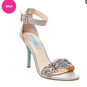 Blue by Betsey Johnson Evening Sandals Bridal